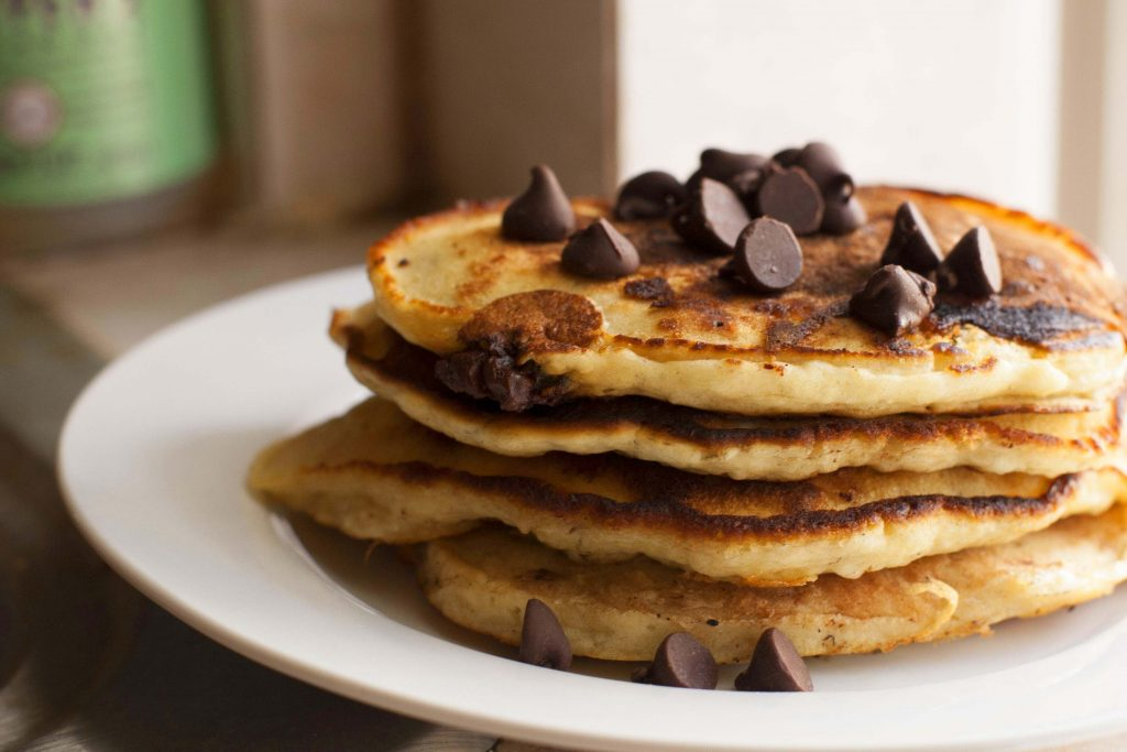 Chocolate Chips Pancake