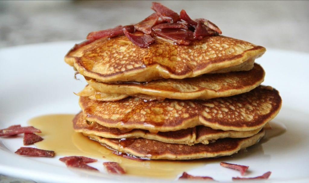 Bacon Apple Pancake